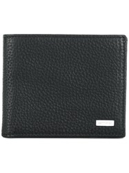 Etro Bifold Wallet Leather Black