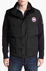 Canada Goose Men's 'Freestyle' Water Resistant Regular Fit Down Vest Classic Camo