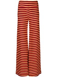 Hellessy Flared Striped Trousers 60