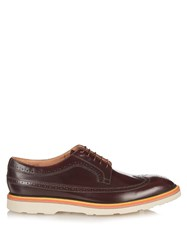 Paul Smith Grand Brogue Leather Brogues