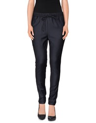 Brian Dales Trousers Casual Trousers Women Dark Blue
