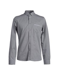 Surface To Air Long Sleeve Shirts Grey