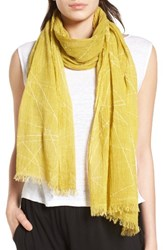 Eileen Fisher Women's Organic Cotton Scarf Papyrus
