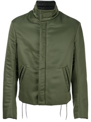 Maison Martin Margiela Funnel Neck Casual Jacket Green