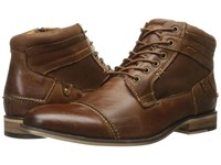 Steve Madden Jensunn Dark Tan Men's Lace Up Boots Brown