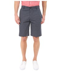 Dockers The Perfect Shorts Classic Flat Front Glendora A Anchor Print Men's Shorts Gray