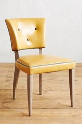 Anthropologie Premium Leather Promena Dining Chair Lager