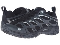 Merrell Moab Edge Waterproof Black Men's Lace Up Casual Shoes