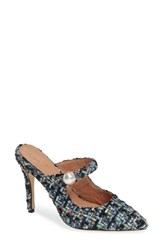 Halogen X Atlantic Pacific The Perfect Mule Soft Blue Tweed