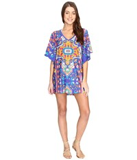 Trina Turk Tapestry Tunic Cover Up Multi Women's Swimwear