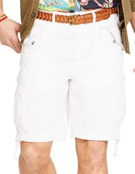 Polo Ralph Lauren Relaxed Fit Ripstop Cargo Shorts White