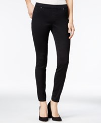 Jessica Simpson Kiss Me Dark Blue Wash Jeggings Black