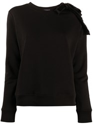 Red Valentino Bow Embellished Crewneck Sweatshirt 60
