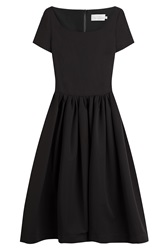 Preen By Thornton Bregazzi Crepe Dress Black