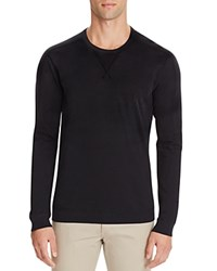 Splendid Slub Knit Long Sleeve Tee Black
