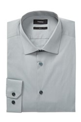 Theory Dover Slim Fit Shirt Gray