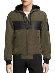 Mackage Army Bomber Hooded Jacket