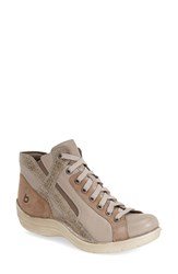 Women's Bionica 'Orbit' Boot Taupe Grey Leather