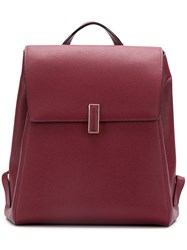 Valextra Iside Backpack Red