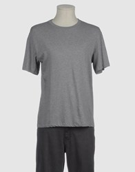 G750g Topwear Short Sleeve T Shirts Men Grey