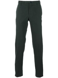 Incotex Slim Fit Chinos Green