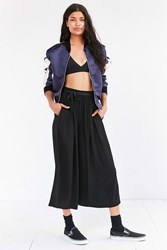 Staring At Stars Crinkle Culotte Pant Black