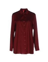 Michelle Windheuser Shirts Maroon