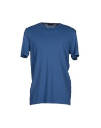 Seventy By Sergio Tegon Topwear T Shirts Men Pastel Blue