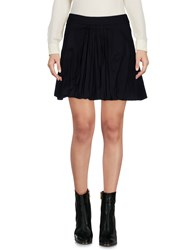 Flavio Castellani Mini Skirts Black