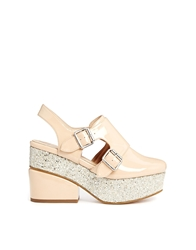 Asos Papaya Platforms Nude