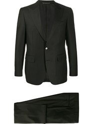 Canali Two Piece Formal Suit Black