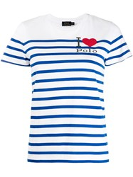 Polo Ralph Lauren I Love T Shirt White