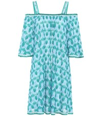 Missoni Mare Crochet Knitted Dress Blue