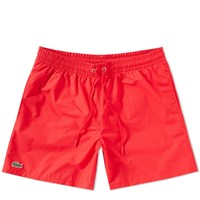 Lacoste Swimshort Red