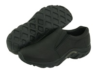 Merrell Jungle Moc Leather Midnight Leather Men's Slip On Shoes Navy