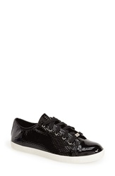 Delman 'Magie' Low Top Sneaker Women Black Patent
