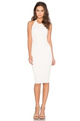 Nookie Casablaca Backless Dress White