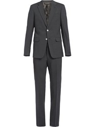 Prada Classic Two Piece Suit Grey