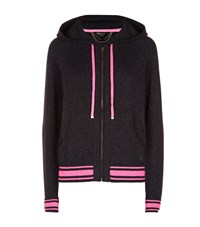 Juicy Couture Cashmere Hoodie Female Grey