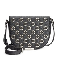 Nine West Dima Crossbody Black Grommet
