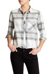 Sincerely Jules Charlie Flannel Shirt Green