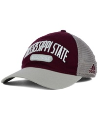 Adidas Mississippi State Bulldogs Adjustable Mesh Slouch Cap