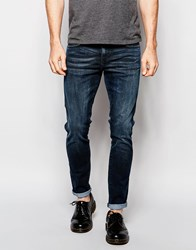 Dr. Denim Dr Denim Jeans Snap Super Skinny Fit Blue Concrete Blueconcrete