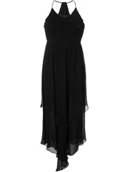 Jay Ahr Handkerchief Maxi Dress Black