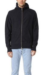 Aime Leon Dore Full Zip Hoodie Dark Midnight