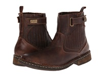 Lobo Solo Felix Brown Leather Men's Pull On Boots