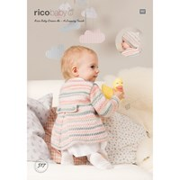 Rico Baby Dream A Luxury Touch Dk Jacket And Hat Knitting Paper Pattern 517