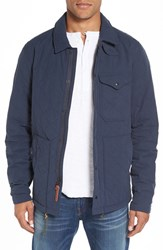 Relwen Men's Quilted Field Jacket Navy