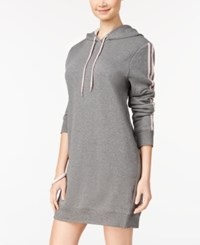 Material Girl Active Juniors' Hoodie Dress Created For Macy's Grey