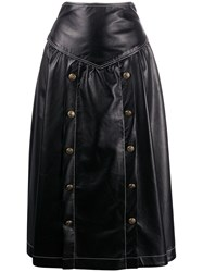 Philosophy Di Lorenzo Serafini Panelled Flared Skirt 60